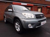 2005 TOYOTA RAV4 2.0 XT3 VVT-I 5d 147 BHP £2689.00