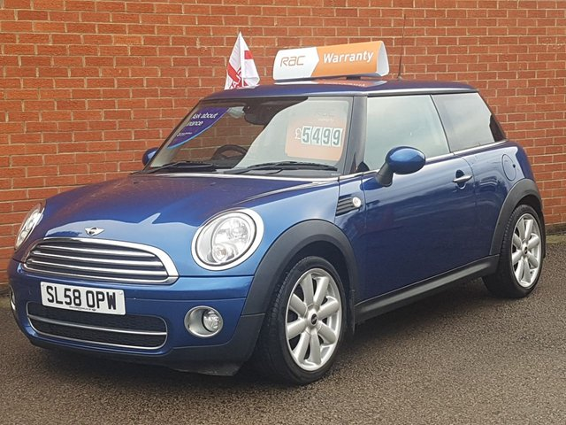 2008 58 MINI HATCH COOPER 1.6 COOPER D 3d PEPPER PACK --BIG SPEC