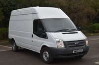 USED 2013 13 FORD TRANSIT 2.2 T350 RWD 5d 124 BHP LWB HIGH ROOF DIESEL MANUAL PANEL VAN  ONE OWNER,SH,EURO 5 ENGINE,SIX SPEED GEARBOX