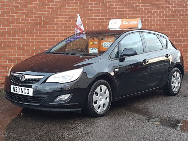 2011 N VAUXHALL ASTRA 1.4 EXCLUSIV 5 Door LPG / GAS