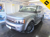 USED 2013 62 LAND ROVER RANGE ROVER SPORT 3.0 SDV6 HSE 5d AUTO 255 BHP