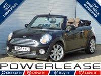 2009 MINI CONVERTIBLE 1.6 COOPER 2d 120 BHP £4880.00