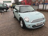 2013 MINI HATCH COOPER 1.6 COOPER 3d AUTO 122 BHP £9999.00