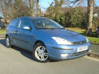 USED 2003 03 FORD FOCUS 1.6 ZETEC 3d 99 BHP THIS FOCUS WILL COME WITH A NEW MOT ON SALE,