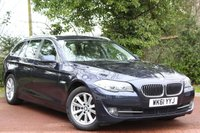 USED 2011 61 BMW 5 SERIES 2.0 520D SE TOURING 5d AUTO 181 BHP