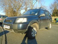 2004 LAND ROVER FREELANDER 2.0 TD4 S STATION WAGON 5d 110 BHP £1795.00