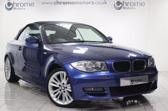 2008 BMW 1 SERIES 125i SE Convertible £6995.00