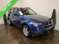 USED 2007 07 BMW X3 2.0 D SE 5d 148 BHP SERVICE HISTORY+LEATHER