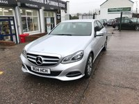 USED 2014 MERCEDES-BENZ E CLASS 2.1 E250 CDI SE 4d AUTO 202 BHP Only 12500 Miles, Sat Nav, Bluetooth, Full service History, Heated Seats.