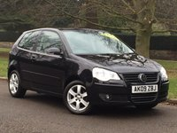 USED 2009 09 VOLKSWAGEN POLO 1.4 MATCH 3d AUTO 79 BHP