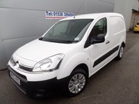 2013 CITROEN BERLINGO 1.6 625 X L1 HDI 1d 74 BHP 75000 MILES VERY CLEAN VAN £5295.00