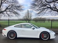 2016 PORSCHE 911  CARRERA S, 2d 414 BHP £110000.00