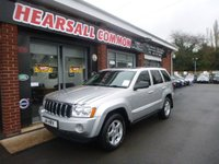 2006 JEEP GRAND CHEROKEE 3.0 V6 CRD LIMITED 5d AUTO 215 BHP £4495.00