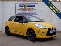 USED 2011 11 CITROEN DS3 1.6 DSPORT 3d 155 BHP Full Service History Bluetooth 0% Deposit Finance Available