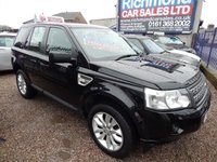 USED 2011 11 LAND ROVER FREELANDER 2.2 TD4 HSE 5d 150 BHP FULL SERVICE HISTORY, LEATHER, PANROOF, HEATED SEATS