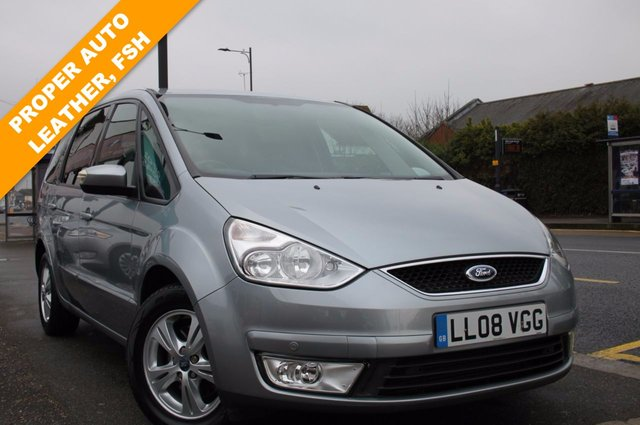2008 08 FORD GALAXY 2.0 ZETEC Leather TDCI 5d AUTO 140 BHP