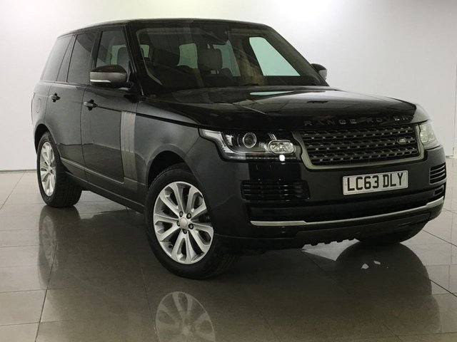 View our 2013 63 LAND ROVER RANGE ROVER 3.0 TDV6 VOGUE 5d AUTO 258 BHP