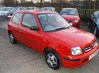 1999 NISSAN MICRA 1.0 EQUATION 16V 3d AUTO 54 BHP £750.00
