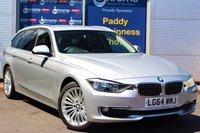 USED 2014 64 BMW 3 SERIES 2.0 320D LUXURY TOURING 5d AUTO 181 BHP