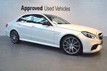 2015 MERCEDES-BENZ E CLASS 5.5 E63 AMG 4d AUTO 550 BHP £39950.00
