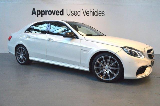 2015 15 MERCEDES-BENZ E CLASS 5.5 E63 AMG 4d AUTO 550 BHP