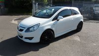 USED 2010 60 VAUXHALL CORSA 1.2 LIMITED EDITION CDTI ECOFLEX 3d 73 BHP ONLY £30 ANNUAL ROAD TAX