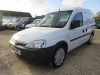 USED 2009 09 VAUXHALL COMBO VAN  2000 1.3 CDTI EX BT ONLY 55694 MILES FROM NEW