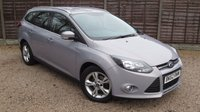 USED 2012 62 FORD FOCUS 1.6 ZETEC TDCI 5d 113 BHP Bluetooth, PDC, Alloys, FSH