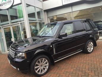 2012 LAND ROVER RANGE ROVER 4.4 TDV8 WESTMINSTER 5d AUTO 313 BHP £27500.00