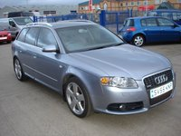 USED 2005 55 AUDI A4 2.0 TDI S LINE 5d 140 BHP  MOT SERVICE WARRANTY FINANCE
