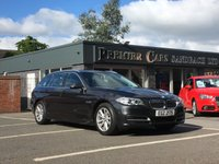USED 2014 14 BMW 5 SERIES 2.0 520d SE Touring Auto 5dr FULL HEATED LEATEHR, SAT NAV