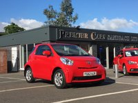 USED 2012 62 TOYOTA IQ 1.0 VVT-i 3dr AIR CON, CD, ALLOY WHEELS