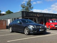 USED 2012 62 MERCEDES-BENZ E CLASS 3.0 E350 CDI BlueEFFICIENCY Sport Blue 7G-Tronic 2dr LEATHER ELECTRIC HEATED SEATS