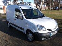 2007 NISSAN KUBISTAR 1.5 SE DCI 1d 68 BHP £2000.00