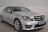 USED 2011 61 MERCEDES-BENZ C CLASS 2.1 C220 CDI BLUEEFFICIENCY AMG SPORT ED125 2d AUTO 170 BHP