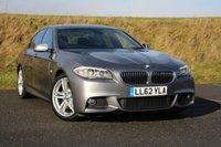 2012 BMW 5 SERIES 2.0 520D M SPORT 4d AUTO 181 BHP £16495.00