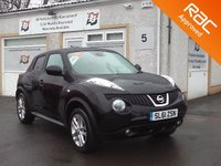 USED 2012 61 NISSAN JUKE 1.6 TEKNA DIG-T 5d AUTO 190 BHP Automatic 4x4 variable -3 service Stamps -Parking camera -sat nav
