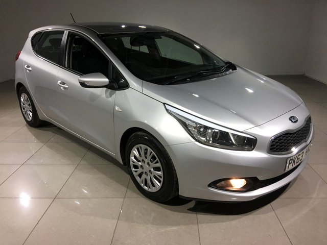 View our 2013 63 KIA CEED 1.6 CRDI 1 ECODYNAMICS 5d 126 BHP