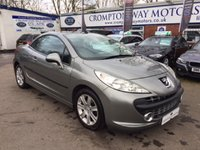 2010 PEUGEOT 207 1.6 SPORT COUPE CABRIOLET HDI 2d 108 BHP £3995.00