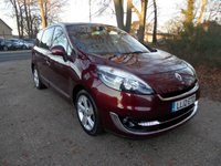 2012 RENAULT SCENIC 1.6 GRAND DYNAMIQUE TOMTOM ENERGY DCI S/S 5d 130 BHP £8495.00