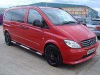USED 2009 09 MERCEDES-BENZ VITO 3.0 120 CDI SPORT-X COMPACT 1d AUTO 204 BHP NO VAT