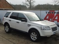 2010 LAND ROVER FREELANDER 2.2 TD4 E S 5d 159 BHP Black & White Edition £7995.00