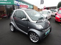 2007 SMART FORTWO 0.7 PASSION SOFTOUCH 2d AUTO 61 BHP £2300.00