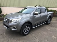 USED 2017 NISSAN NAVARA NAVARA 2.3 DCI TEKNA DOUBLE CAB MASSIVE SPEC, LEATHER HEATED SEATS, SAT NAV, REVERSE CAMERA, 5 YEARS WARRANTY
