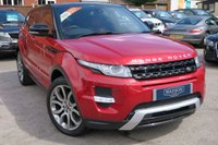 USED 2013 62 LAND ROVER RANGE ROVER EVOQUE 2.2 SD4 DYNAMIC LUX 5dr 190 BHP BEST SPEC + LOW MILES  Full History, Dual Screen TV, Colour SAT NAV, Heated Leather, Pan Roof, Cameras, Harmon Kardon