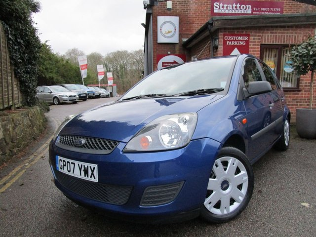 2007 07 FORD FIESTA 1.4 STYLE CLIMATE 16V 5d 68 BHP