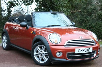 2011 MINI CONVERTIBLE 1.6 ONE 2d 98 BHP £5989.00