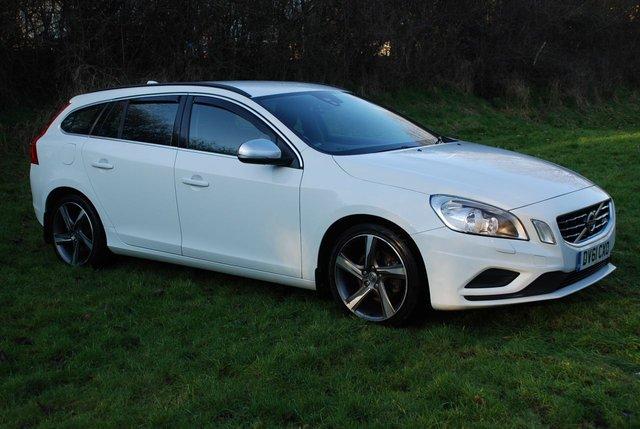 2011 61 VOLVO V60 1.6 DRIVe R-DESIGN S/S [113 BHP] 5 Door Estate * DIESEL *