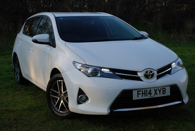 2014 14 TOYOTA AURIS 1.6 V-MATIC ICON+ MULTIDRIVE AUTO [130 BHP] 5 Door Hatchback