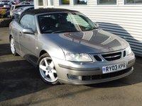 2003 SAAB 9-3 2.0 VECTOR T 2d 175 BHP £2980.00